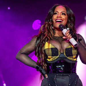 Kandi Burruss Looks Gorgeous With Black Hair And Purple Highlights – See Her Photo