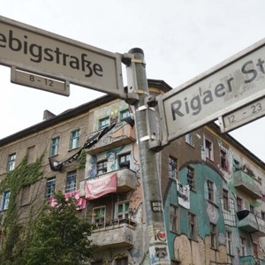For eviction in October - Berlin school closed because of Liebig chaots!
