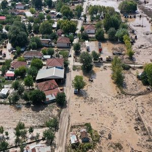 Karditsa: 40 residents trapped, without water and electricity in Oxia - Helicopters await [video]