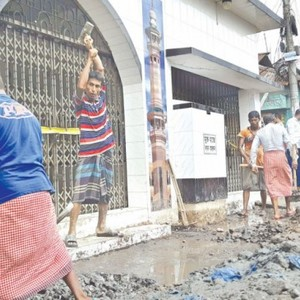 6 leakages found in Titas Gas pipeline under Narayanganj mosque