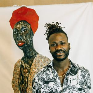 Amoako Boafo on Slowing Down and Staying Focused While His Auction Prices Skyrocket