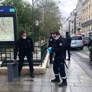 Paris knife attacker suspect says he wanted to go after Charlie Hebdo
