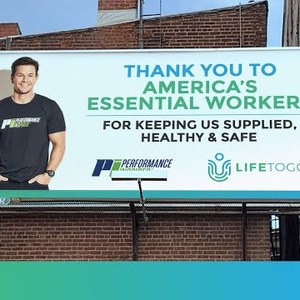 Accelerate's LifeToGo and Mark Wahlberg's Performance Inspired Donate 1.3 Million Masks To Schools Across The U.S.