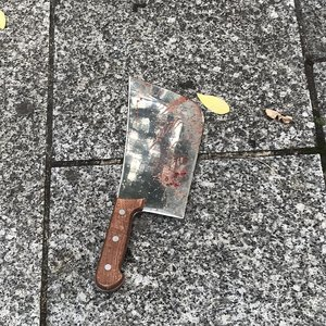 Seven detained after knife attack near ex-Charlie Hebdo offices