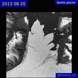 Climate change: Warmth shatters section of Greenland ice shelf