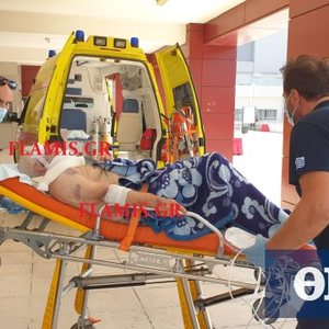 Brave robbery in Patras: Wild wood to an elderly man to get a few euros! (photos)