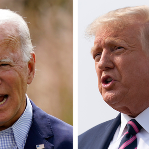 Trump says if 'weak' Biden can vote in person, 'any American can do it'