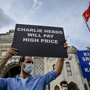 """Charlie Hebdo: """"You marched for free speech in 2015, ensure it is respected now"""""""