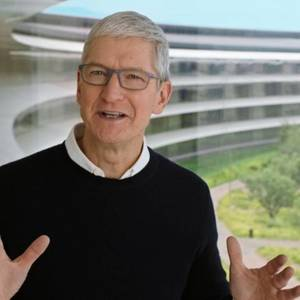 Apple Chief Says Fires And Storms Show Impact Of Climate Change