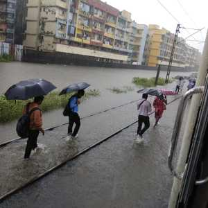 Heavy Rain Leads To Waterlogging In Several Parts Of Mumbai