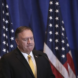 [Opinion] Mike Pompeo is now brazenly campaigning for Trump using his federal post