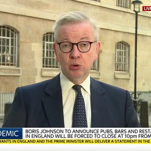 "Michael Gove: ""If you can work from home, you should do so"""