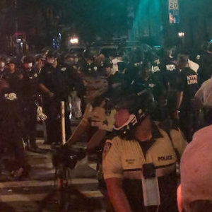 Abrupt Police Crackdown on Crowd in the West Village Prompts Criticism