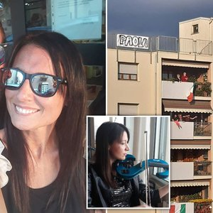 Couple who met on their balconies during lockdown planning to get married