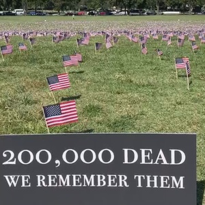 COVID-19 has killed more Americans than the 5 most recent wars combined