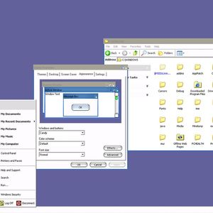Microsoft had a secret Windows XP theme that made it look like a Mac