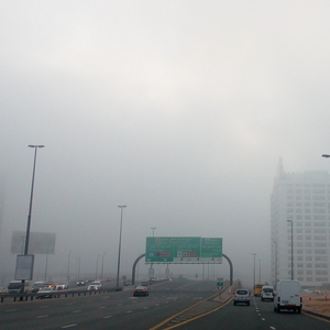 Dubai records 29 road accidents due to fog