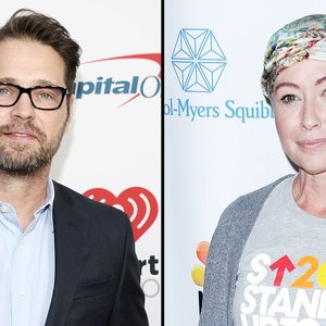 Jason Priestley says Shannen Doherty is in 'good spirits' amid cancer battle