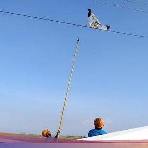 A number of Rembang's electricity networks are disrupted, it turns out that it's Gegara Kites