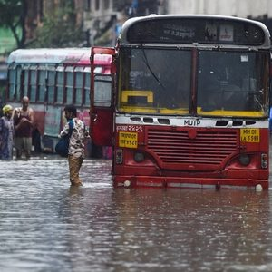 In PICS | Mumbai Receives Season's Heaviest Rainfall, Holiday Declared As Waterlogging Brings Life To A Standstill