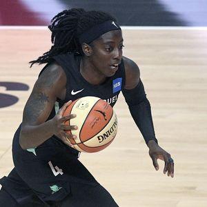 Liberty's Jazmine Jones earns WNBA All-Rookie team honors