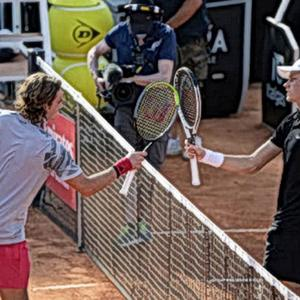 Tennis | Future superstar Jannik Sinner, 19, staged a giant surprise at the Rome Masters