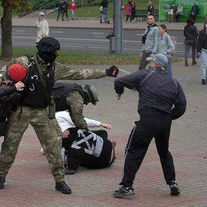Police in Belarus arrest at least 53 people - activists