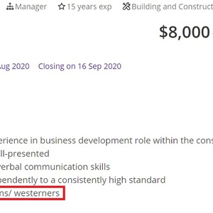 MyCareerFuture.sg allows job posting seeking European/Westerner candidates on its portal - The Online Citizen