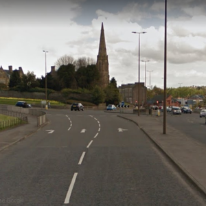 Cops race to scene of serious crash in Dundee as road closed