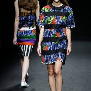 Imaan Hammam was the star of Milan Fashion Week