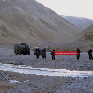 Rajnath claims - no power can stop us from patrolling the LAC; Truth- China stopped India by occupying 50 km area