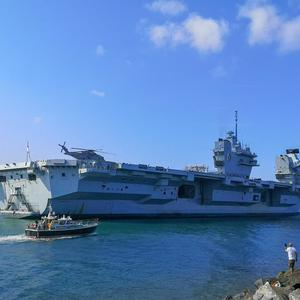 More crew on aircraft carrier HMS Queen Elizabeth test positive for Covid