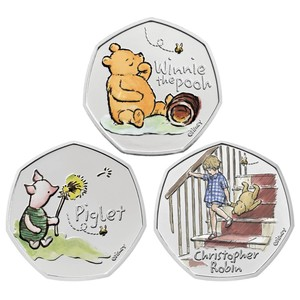 When will the new Winnie the Pooh 50p be released and how can you get one?