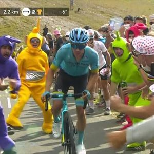 Mas poised to make move on final day of Tour de France in Alps