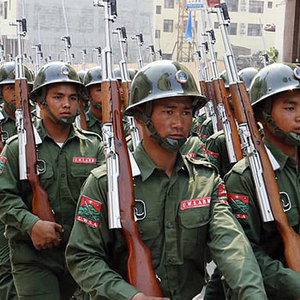 Myanmar's Heavyweight Ethnic Armies Boost Training as Peace Talks Languish