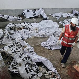 Pakistan's 2012 factory fire that killed over 260 was arson; two get death sentence