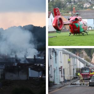 Investigation launched after man, 38, seriously injured in Chepstow explosion