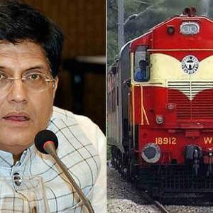 Railway Minister Piyush Goyal suspends construction of new railway line in Tamil Nadu