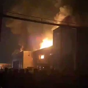 Major fire breaks out at a factory near Iran's capital, no casualties: TV