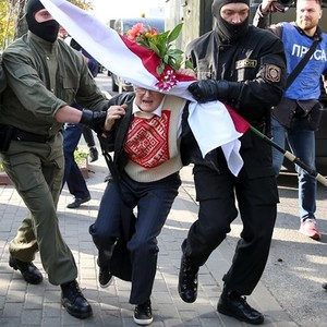 Rights group: Dozens in Belarus investigated amid protests