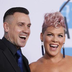 Pink's husband Carey Hart fires back at critics slamming her Biden-Harris T-shirt: 'Bye Karen'