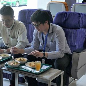 Thai Airways supports reconstruction of in-flight meal restaurant as if it were a flight: Jiji.com