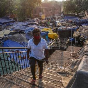 Eviction fear looms large over thousands of slum dwellers in Indian capital