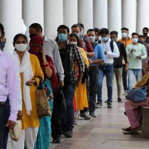 India's tally of coronavirus infections nears 5 million