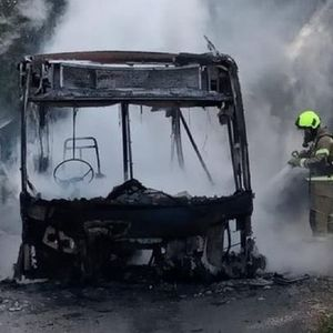 Three teenage boys arrested for arson after bus fire in Dover