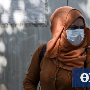 """Koronovirus: The virus is """"scanning"""" the immigrants in the center of Athens!"""