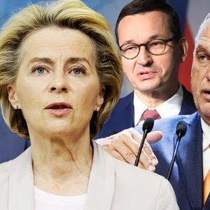EU CHAOS: Poland and Hungary threaten to crash bloc's £677billion COVID recovery fund