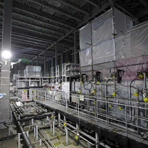Contaminated treated water that exceeds the release standard TEPCO starts reprocessing test Fukushima Daiichi Nuclear Power Plant (Mainichi Shimbun) --Yahoo! News