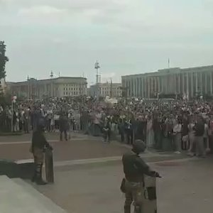 Thousands flood Belarus capital as election protests grow