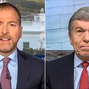 Chuck Todd shreds GOP senator for making rules 'out of thin air': 'The party looks like a bunch of hypocrites'